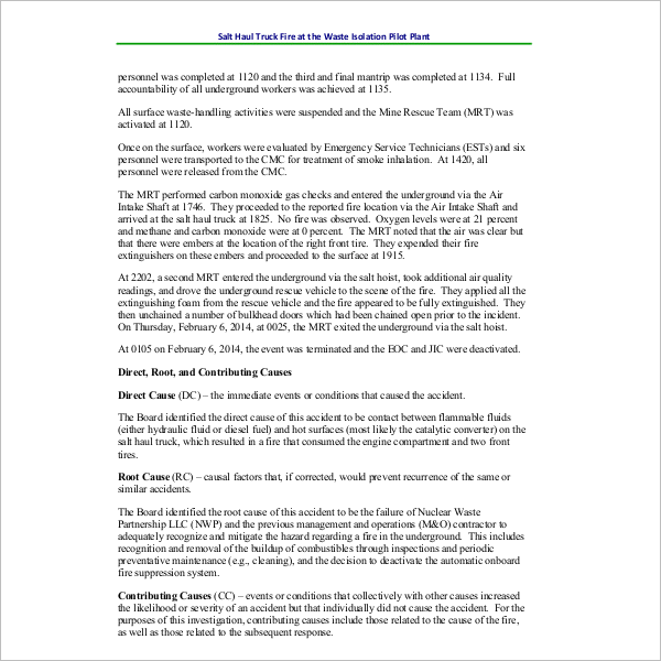 PresentenceInvestigation Report Template