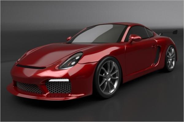 Pretty3D Car Model