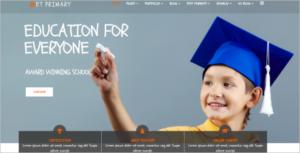 PrimarySchool Joomla Template