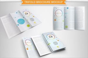 Printable Leaflet Design Template
