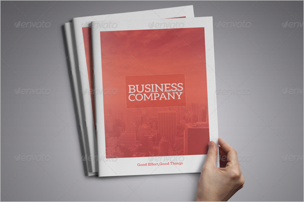 Professional A4 Brochure Template