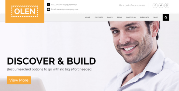 Professional Business Corporate HTML5 Template