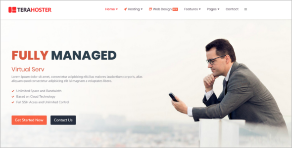 Professional Hosting HTML5 Template