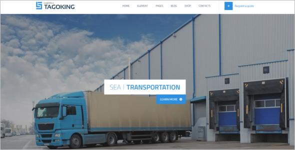Professional Logistics HTML5 Template