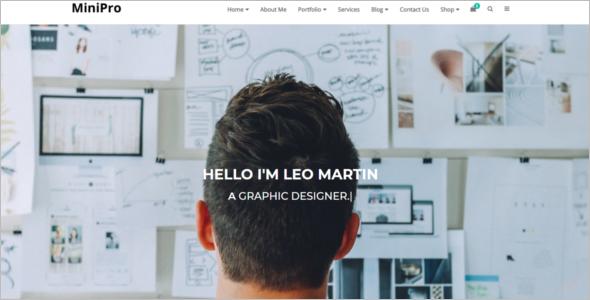 Professional Portfolio HTML5 Template