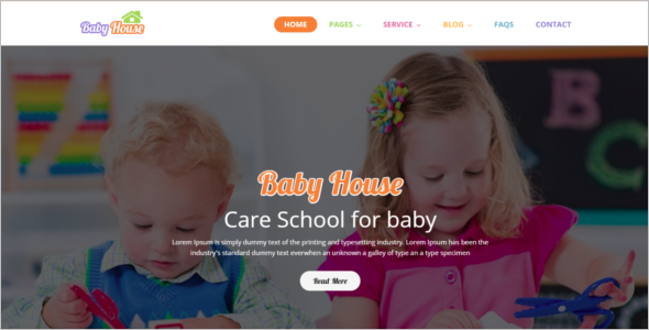 Professional School HTML5 Templates