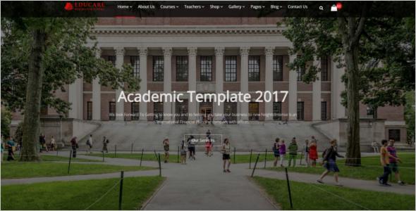 Professional University HTML5 Tempate