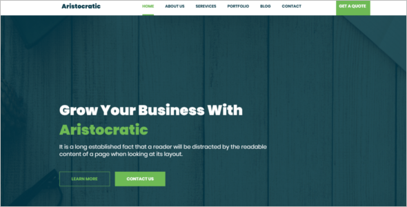 Professional Website HTML5 Template