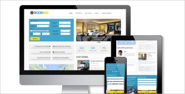 Property Booking Joomla Template