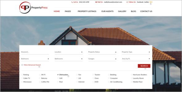 Property Provider Joomla Template