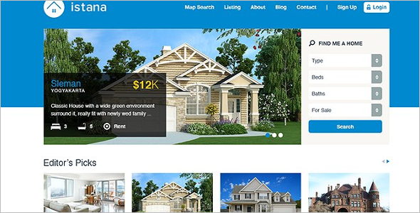 Property Real Estate Joomla Template
