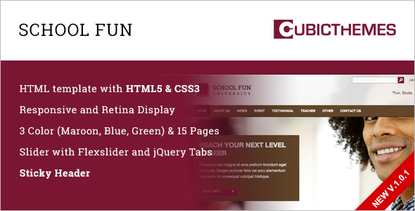 Quality School HTML5 Template