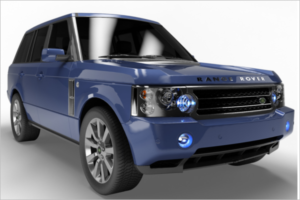 Range Rover Car Design