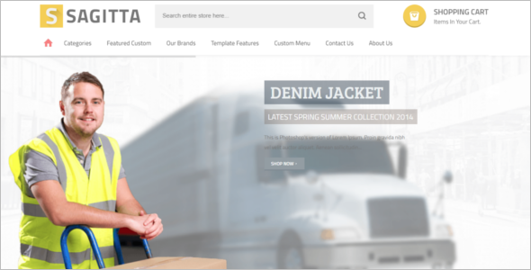 Real Ecommerce Joomla template