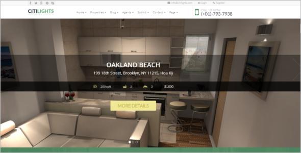 Real Estate Agency Website Joomla Template