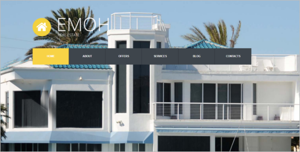 Real Estate Agent Joomla Template