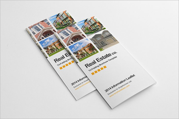 Real Estate Brochure Template PSD