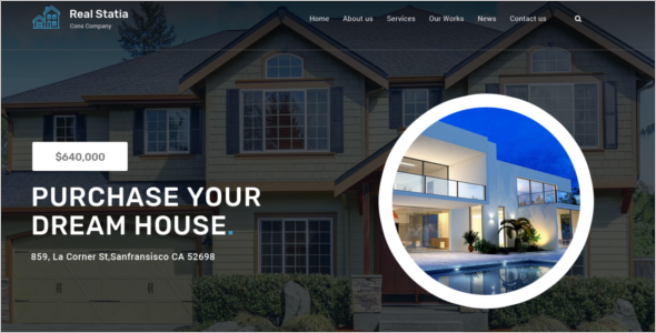Real Estate Business Joomla PSD Template