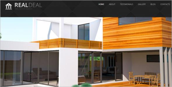 Real Estate Joomla ResponsiveTemplate