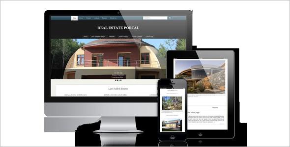 Real Estate Portal Joomla Template