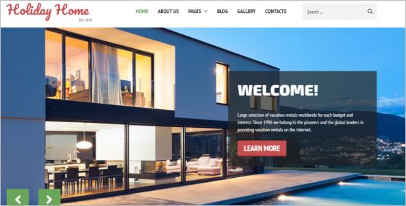Real Estate Services Joomla Template