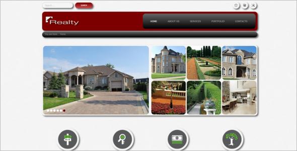 Real Estate Website Joomla Template