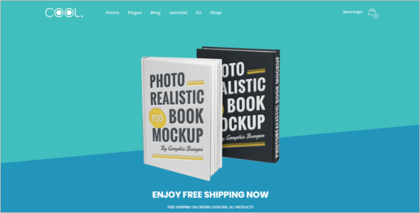 Realistic eCommerce Joomla Template