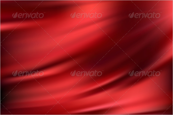 Red Silk Abstract Texture Design