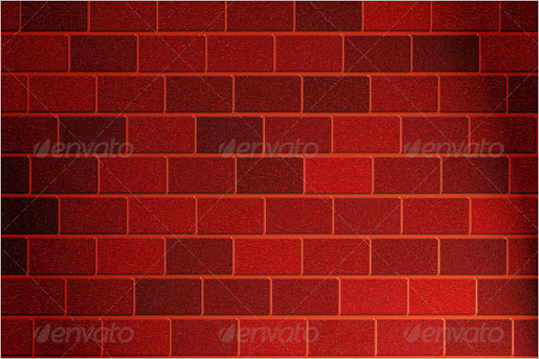Red Wall Texture Design