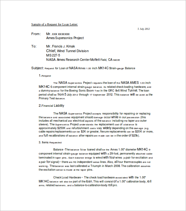 RequestApproval Letter Template
