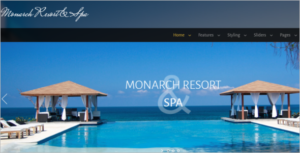 Resort & Spa HTML5 Template