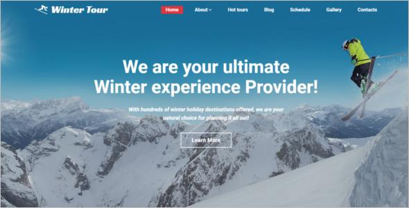 Resort Website HTML5 Template