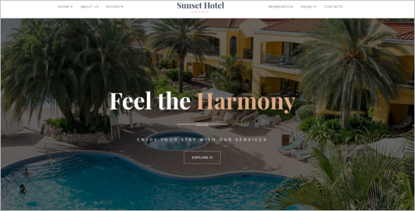 Resort Website HTML5 Template.png