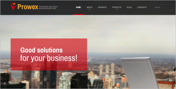 Responsive Business HTML5 Template