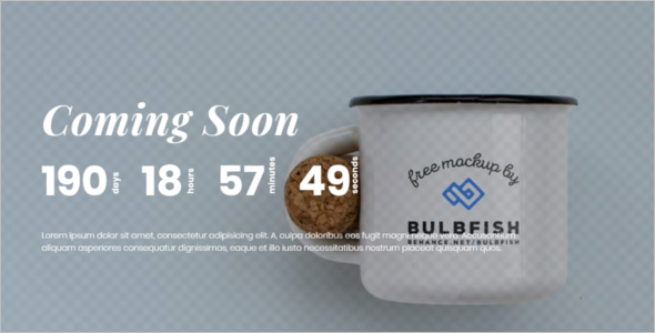 Responsive CSS3 Coming Soon Template