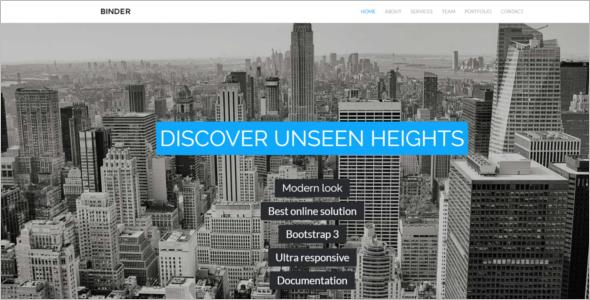Responsive Corporate HTML5 Templates