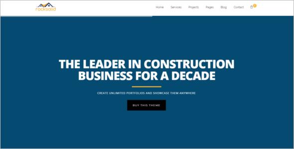 Responsive HTML5 Portfolio Template