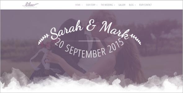 Responsive HTML5 Wedding Template