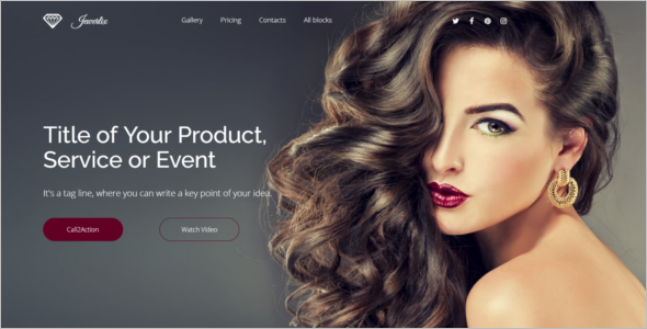 Responsive Jewelry HTML5 Template