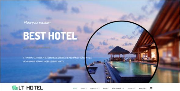 Responsive Luxury Hotel Joomla Template