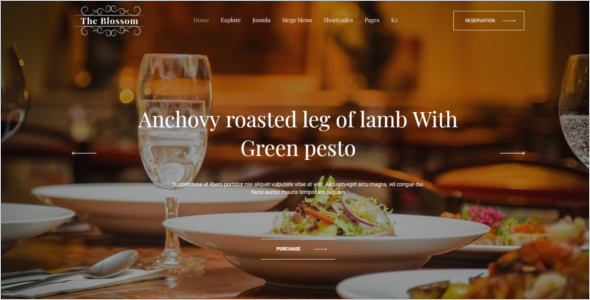 Responsive Luxury Joomla Template