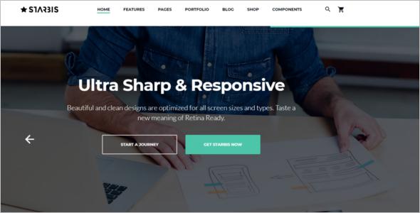 Responsive Technology HTML5 Template