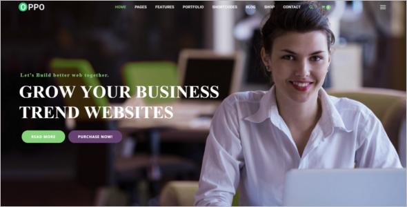 Responsive Website Template