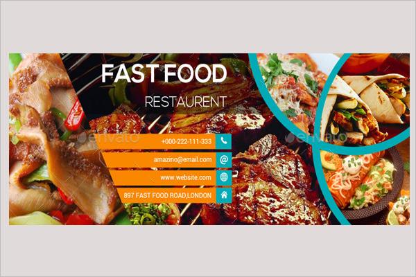 Restaurant Facebook AD Design