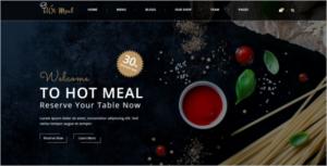 Restaurant HTML5 Template