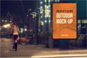 Road SideOutdoor Mockup Design