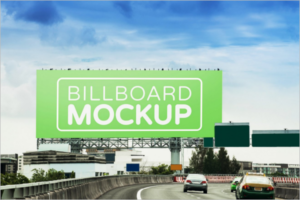 Road Side Outdoor Mockup Template