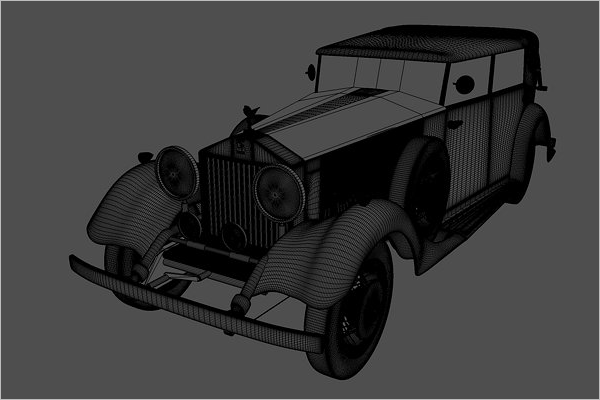 Rolls Royce 3D Image Model