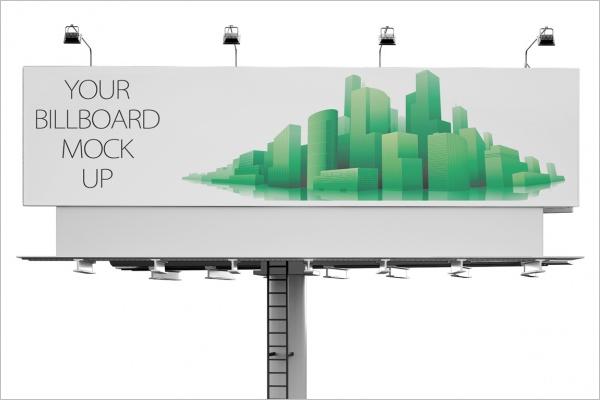 Sample Billboard Mockup Designs