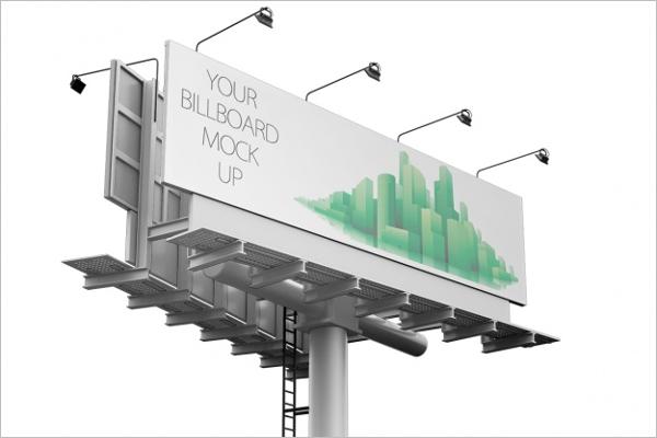 Sample Billboard mockup Design